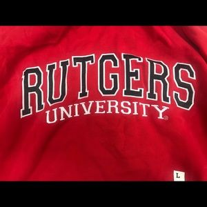 Rutgers University Hoodie Sweat Shirt